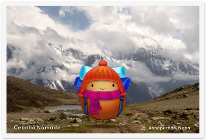 Postal Annapurnas Nepal